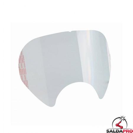 pellicola protettiva salvaschermo 3M 6885 per maschere serie 6000 7100139126