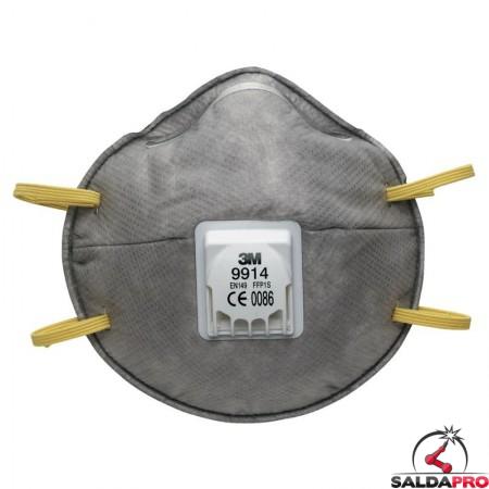 maschera carboni attivi 3m