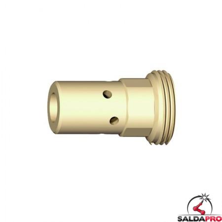 Supporto per ugello porta corrente M6 25mm abicor binzel