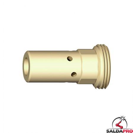 Supporto per ugello porta corrente M6 29mm abicor binzel BZ1420013