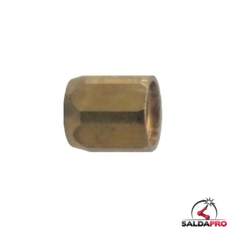 dado di fissaggio ferma guaina ricambio torce MB EVO PRO 401/501D Abicor Binzel BZ5010082