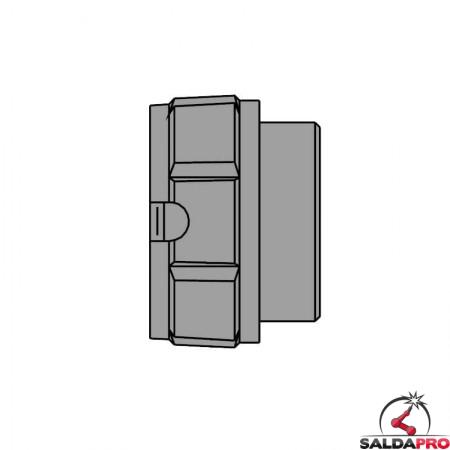 ghiera ferma adattatore ricambio torce MB EVO PRO 401/501D Abicor Binzel BZ5000213