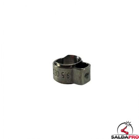 fascetta ferma tubo ricambio torce MB EVO PRO 401/501D Abicor Binzel BZ1730001