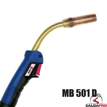 torcia completa MB 501 D abicor binzel saldatura MIG/MAg BZ0340160