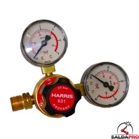 Riduttore di pressione monostadio per propano Harris modello 601