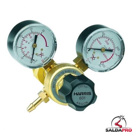 Riduttore di pressione monostadio per miscela argon Harris modello 601