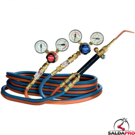 attrezzatura Harris per saldatura e brasatura con ossigeno e acetilene Easy to Use 2