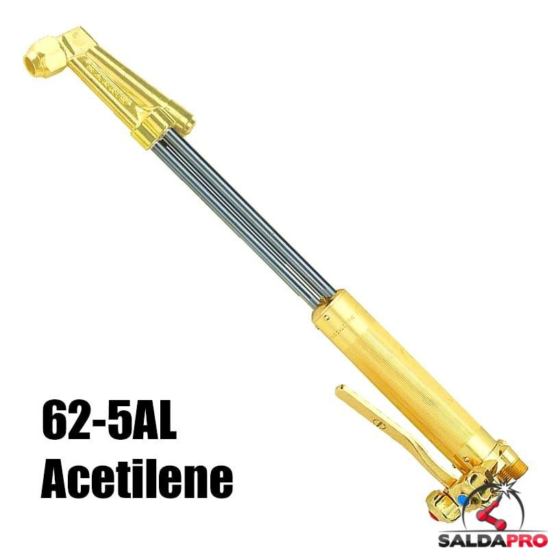 cannello per ossitaglio con acetilene testa 70° modello 62-5AL Harris
