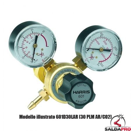 Riduttore di pressione monostadio per Azoto 601D-10-N Harris