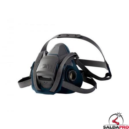 Semimaschera 6502QL 3M per gas vapori e particolato 7100018994