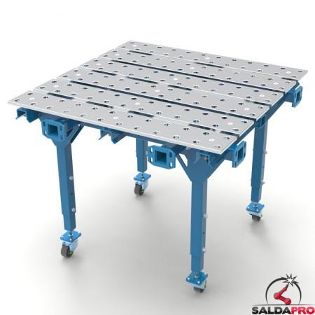 tavolo per saldatura a pistra modular 1000x1000 GPPH