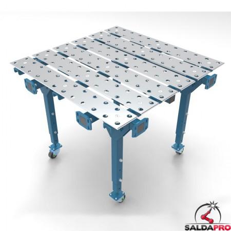 tavolo per saldatura modular chiuso