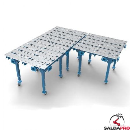 collegamento modulare tavolo per saldatura modular
