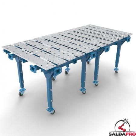 tavolo per saldatura a pistra modular 2670x4000 GPPH