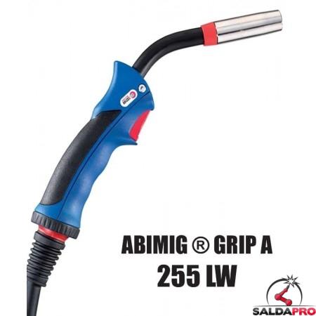 Torcia completa ABIMIG® GRIP A 255 LW per saldatura MIG/MAG