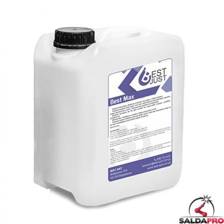Detergente e sgrassatore concentrato Best Max tanica 5L