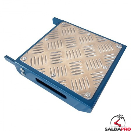 mensola piana 210x200mm GPPH accessorio tavoli saldatura