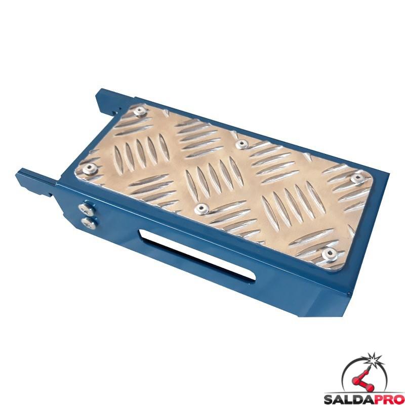 mensola piana 210x100mm GPPH accessorio tavoli saldatura