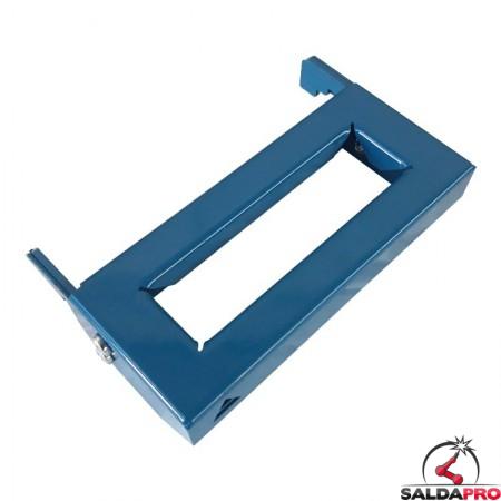 mensola per morsetti 90x200mm GPPH accessorio tavoli saldatura