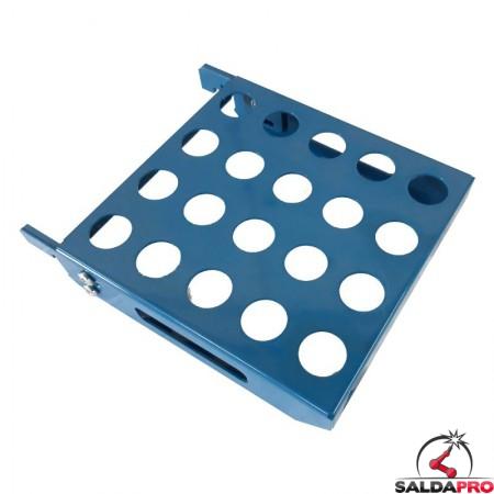 mensola per perni di montaggio 210x200mm GPPH accessorio tavoli saldatura
