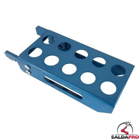 mensola per perni di montaggio 210x100mm GPPH accessorio tavoli saldatura