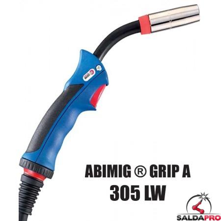 Torcia completa ABIMIG® GRIP A 305 LW per saldatura MIG/MAG