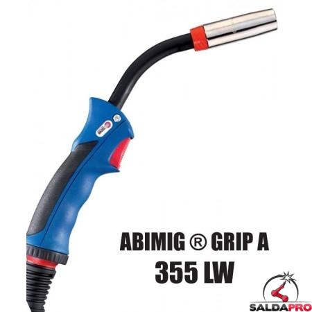 Torcia completa ABIMIG® GRIP A 355 LW per saldatura MIG/MAG
