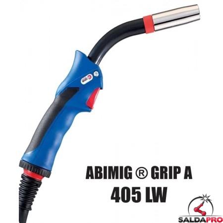 Torcia completa ABIMIG® GRIP A 405 LW per saldatura MIG/MAG