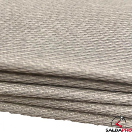 dettaglio coperta ignifuga antispruzzo Kronos per saldatura