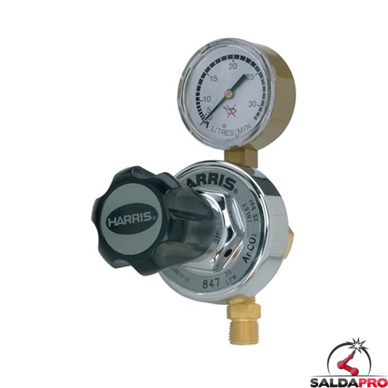 riduttore di pressione Harris 847 per Argoon Co2 applicazioni pesanti