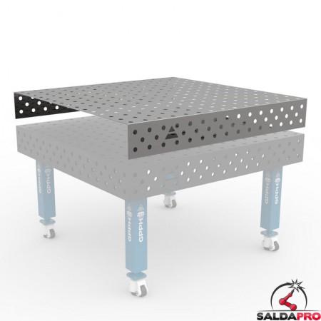 copertura in acciaio inox per tavoli saldatura Steel Max GPPH