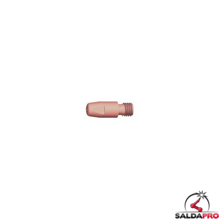 Ugello porta corrente CuCrZr M10 35mm per torcia ABIMIG® GRIP W 605 D (10pz)