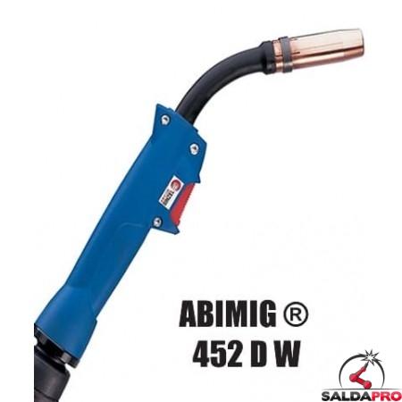 Torcia completa ABIMIG® 452 D W per saldatura MIG/MAG - 3 MT