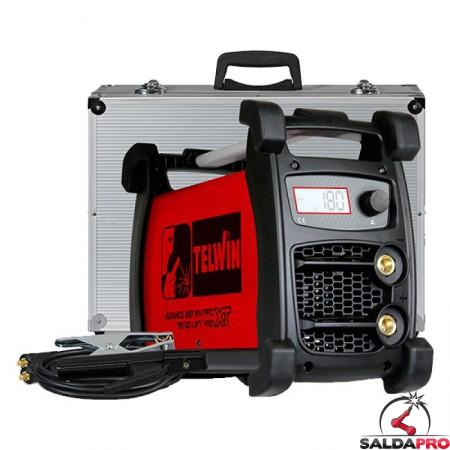 Saldatrice Advance 227 XT MV/PFC VRD 100-240V Telwin saldatura TIG/MMA