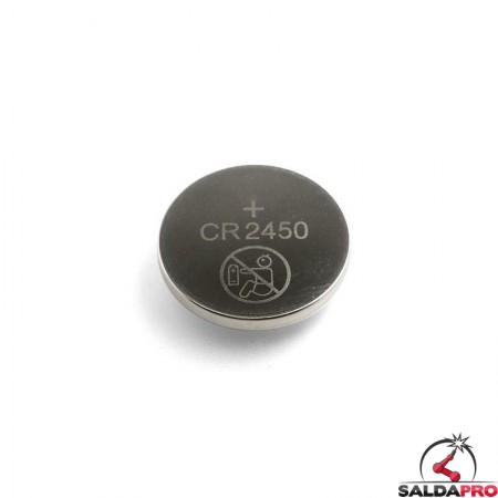 Batteria CR2450 per casco saldatura 3M Speedglas Serie G5