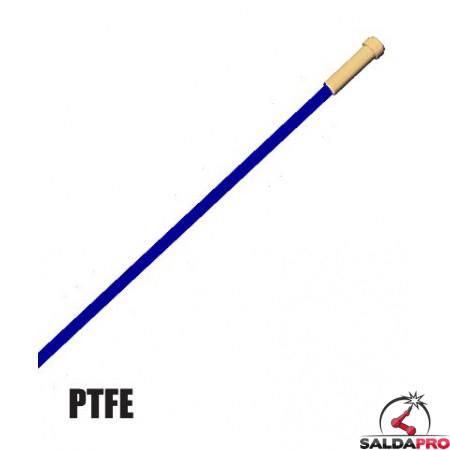 Guaina PTFE blu di ricambio 8 MT per torce Push-Pull