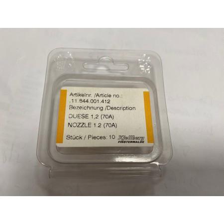 Cappa corta per torce Plasma originali Kjellberg PHT-31 1.2 70A (5pz) 11.844.001.412
