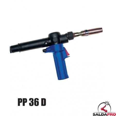 Torcia completa Push-Pull PP 36 D per saldatura MIG/MAG