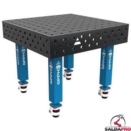tavolo saldatura Traditional 1000x1000 GPPH con ruote