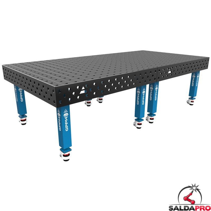 Tavolo saldatura SteelMax 3000x1480 GPPH con ruote