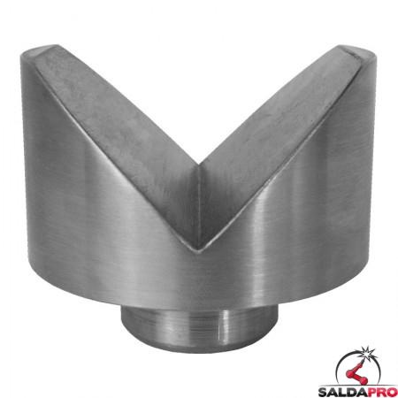 prisma di sostegno tubi 58mm per tavoli saldatura fori 28mm GPPH