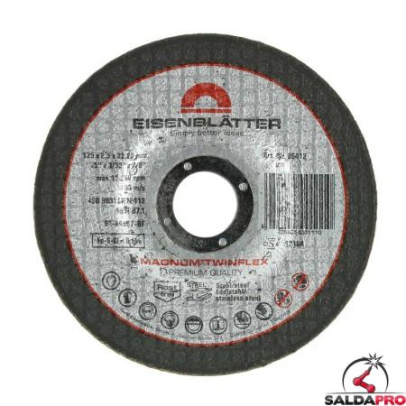 Dischi da taglio e sgrossatura MAGNUM Twinflex Ø125x22,2mm