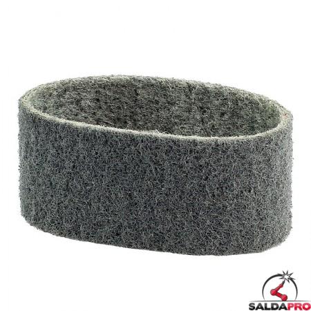 Nastri abrasivi in tessuto SC Ø 90x50mm a grana super fine grigio