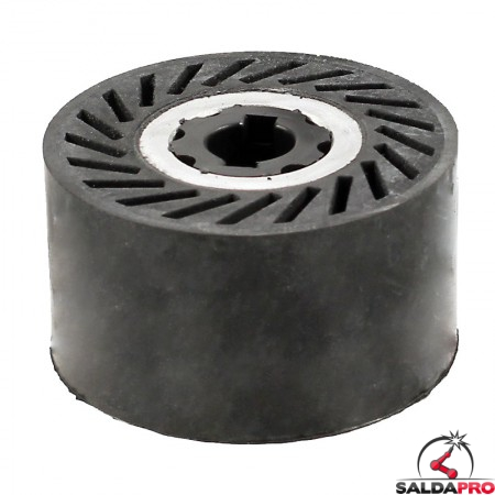 Rullo ad espansione segmentato Ø90x50mm per nastri abrasivi