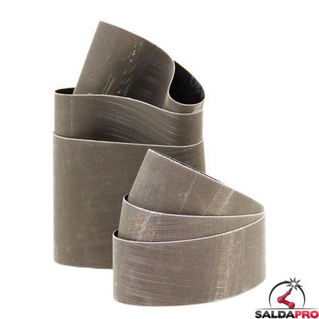 Nastri abrasivi Trizact™ Ø90x100mm per acciaio e INOX, grana 120-2000