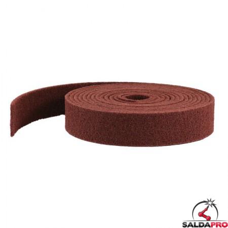 Rotolo nastro in fibra 100x10 metri per la levigatura manuale degli angoli