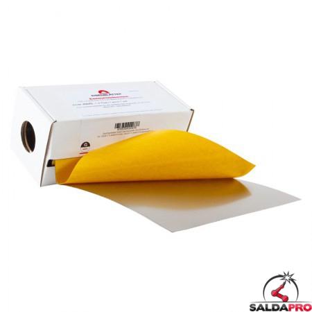 Pellicole per mascheratura angoli in acciaio inox 150x2500mm
