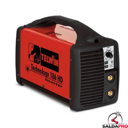 Saldatrice Inverter MMA e TIG TECHNOLOGY 186 HD 230V