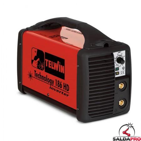 Saldatrice Inverter MMA e TIG TECHNOLOGY 186 HD 230V