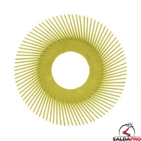 Dischi per spazzola radiale 3M Bristle Tipo A Ø 150 mm, grana 80